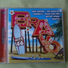 BRAVO HITS 46 (2004) - 2 C D Original - Muzica Dance sony music