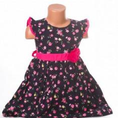 Haine dama - Rochita pentru fetite cu trandafiri roz - BBN1109