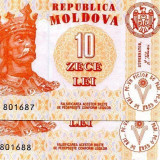 bancnota europa, An: 2009 - SV * Moldova (LOT) 2 x 10 LEI 2009 UNC serii consecutive