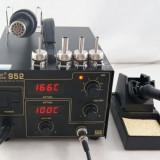 Statie de lipit cu aer cald, termocompensata, cu afisaj - Gordak 952 nou