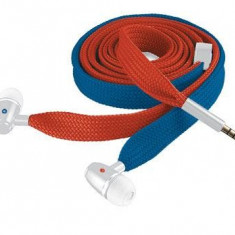Trust Urban Revolt Lace In-ear Headset - red and blue - Casti Telefon