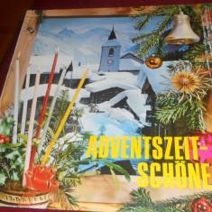 DISC VINIL GERMANIA ADVENTSZEIT SCHONE ZEIT - Muzica Sarbatori