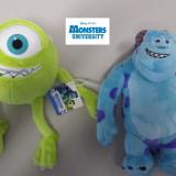 Set 2 plusuri 25cm - Monster University - ORIGINAL DISNEY - Jucarii plus