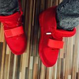Vand adidas / gheata NIKE YEEZY 2 RED OCTOBER --- PE STOC !! CURIER GRATUIT !! - Adidasi barbati, Marime: 39, 40, 41, Culoare: Rosu