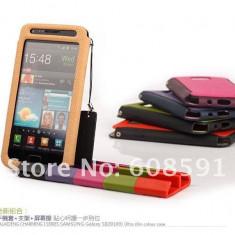 Husa SAMSUNG GALAXY S2 +suport - Husa Telefon Samsung, Negru