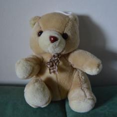 Ursulet de plus - Jucarie plus urs / ursulet cafeniu, 20 cm
