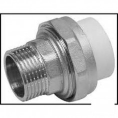 "Racord olandez PPR 25mm - 3/4"" Filet exterior"
