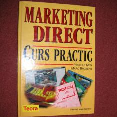 Marketing direct - Curs practic - Yvon Le Men, Marc Bruzeau - Carte Marketing