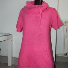 Rochie bluza colanti, tricotaj, S-M, Fishbone, New Yorker. COMANDA MINIMA 30 LEI - Rochie tricotate, Midi, Scurta, Acril