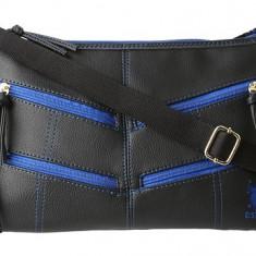 Geanta US Polo Assn - Femei - 100% originala - Geanta Dama US Polo Assn, Culoare: Negru, Marime: Mica, Geanta stil postas, Asemanator piele