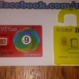 Gevey SIM - R-SIM 10+ plus pentru decodare si activare iPhone 6S 6+ 6 5S 5C 5 4S iOS 9.X