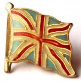 T2. INSIGNA TIP PIN STEAG DRAPEL ANGLIA / MAREA BRITANIE - 25 x 20 mm **, Europa