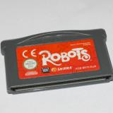 Joc Nintendo Gameboy Advance - Robots - Jocuri Game Boy Altele, Actiune, Toate varstele, Single player
