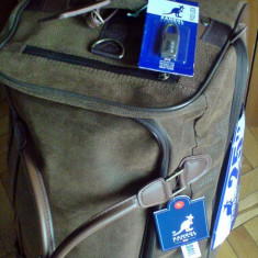 Troller - Geanta troler valiza pe roti Kangol 25inch/64x35x31cm/60Litri -original- IN STOC