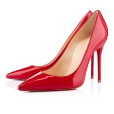 Pantofi dama - CH2237-3 Pantofi stiletto din lac cu toc inalt