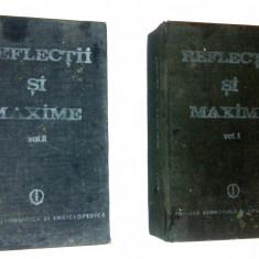 Reflectii si maxime - (2 vol. )- Constantin Badescu - 1989 - Carte Antologie