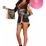 Costum dans - V307 Costum asiatic kimono geisha