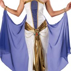 N139 Costum tematic egiptean, de Cleopatra - Costum Halloween, Marime: S, S/M