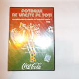 FOTBALUL NE UNESTE PE TOTI . DVD - PELE ,DVD SIGILAT .