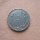 JN. 2 1/2 lira 1961 Turcia, Asia