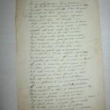 Autograf - Teodor V. Ștefanelli, lot 4 poezii