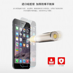 Geam iPhone 6 Plus 6S Plus Tempered Glass 0.2mm by Yoobao Original - Folie de protectie Yoobao, Lucioasa