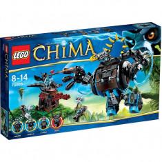 Vand Lego Chima 70008 Gorzan's Gorilla Striker, nou sigilat, 505 piese, 8-14 ani - LEGO Legends of Chima
