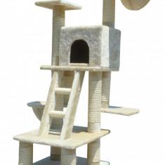 Ansamblu, centru de joaca pisici 115 cm cu sisal, Culcusuri