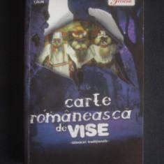 CARTE ROMANEASCA DE VISE - TALMACIRI INTERNATIONALE - Carte Hobby Ezoterism