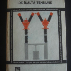 Carte tehnica - BERCU HERSCOVICI - APARATE ELECTRONICE DE INALTA TENSIUNE * INDREPTAR