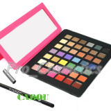 Trusa make up - Trusa Machiaj Profesionala 42 culori MAC #02 cu Ruj cremos + CADOU Creion MAC