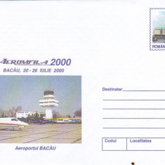 Bnk fil Intreg postal 2000 - Aeromfila 2000 - Aeroportul Bacau