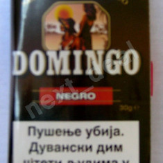 Tutun - Domingo negro 30g(Metrou Eroii Revolutiei-Timpuri Noi.Nu livrez in provincie)