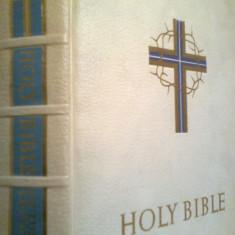 The Holy Bible (De luxe edition) - Biblia (1960)