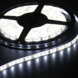 1M Bright White 12V Led Strip 60LED/M IP65 SMD5050 AL200-3 - Instalatie electrica Craciun