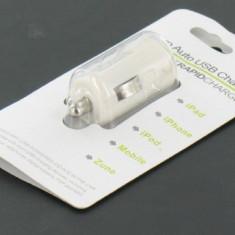 IPad 2, iPad 3 and iPhone S4 car charger white 00395-1 - Incarcator tableta