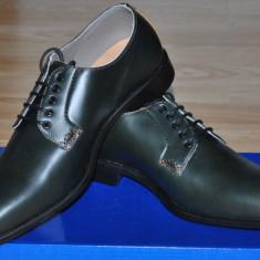 Charles Tyrwhitt UK Pantofi Eleganti Barbati VERDE Mat, Marime 39, 5/40 - Pantofi barbati, Piele naturala
