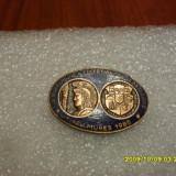 insigna    A X-a reuniune a colectionarilor de insigne ---Tg. Mures  1985