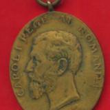 Medalii Romania - -Y- MEDALIA JUBILIARA CAROL I PENTRU MILITARI