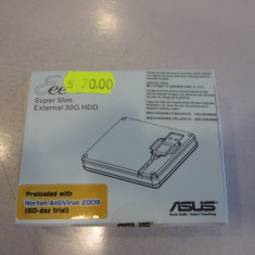 Vand Super Slim External 30Gb HDD - NOU Asus