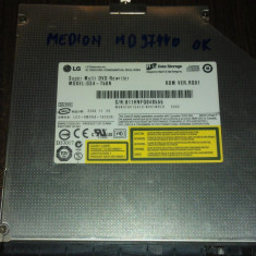 DVD-RW LG GSA-T50N SATA de pe Medion Akoya MD97440 P6613 - Unitate optica laptop