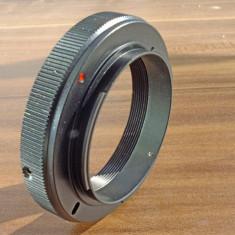 Adaptor aparat foto Alta - Adaptor foto T/T2 la Nikon (montura Nikon F) - include capac spate Nikon