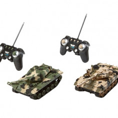 Set Tancuri Radiocomanda - Battle Game Power Tracks - Jocuri Logica si inteligenta Revell