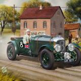 Jocuri Seturi constructie - Macheta Masina De Epoca Revell Bentley Blower - Rv7007
