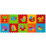 Joc educativ - Jucarie Copii Puzzle Babyono 276 10 Piese