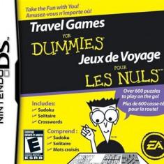 Travel Games For Dummies Nintendo Ds - Jocuri Nintendo DS Electronic Arts