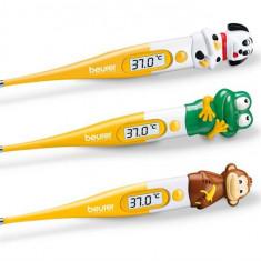 Termometru Digital Cu Cap Flexibil Si De Animalut Beurer By11 - Termometru copii
