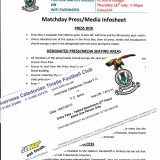 Matchday Press si Entry Pass : INVERNESS FC - ASTRA GIURGIU ( Europa League)