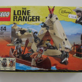 LEGO Minifigurine, 6-10 ani - Vand Lego The Lone Ranger-79107-Comanche Camp, sigilat, 161 piese, 7-14 ani