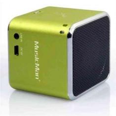 Player TECHNAXX MusicMan SoundStation Mini portabil, verde - Mp4 playere